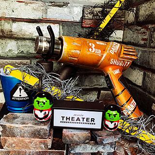 有刺鉄線風/DIY/アイアンペイント/塗装DIY/イレクターパイプ...などのインテリア実例 - 2019-06-27 13:43:19