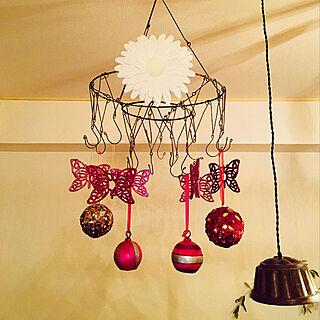 女性家族暮らし3LDK、蝶 に関するnananaさんの実例写真