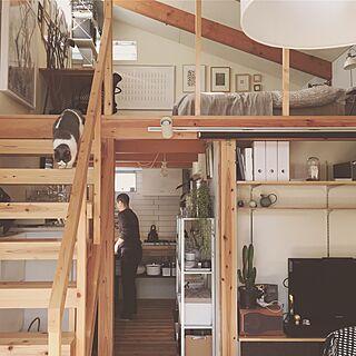 狭小住宅/キッチン/タイニーハウス/tiny house/ローコスト住宅...などのインテリア実例 - 2017-01-27 15:14:05