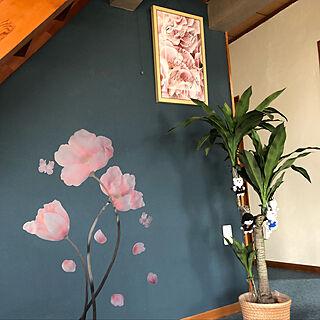 家族暮らし、ニトリのフェイクグリーンに関するt-blueさんの実例写真