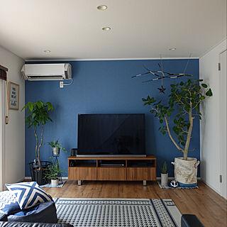 女性家族暮らし4LDK、インドアグリーンに関するhiro.rororoさんの実例写真