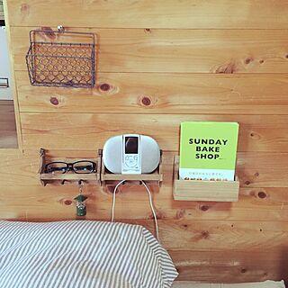 女性30歳の家族暮らし1LDK、寝る前に読む本に関するharu0_44さんの実例写真