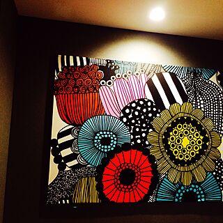 壁/天井/ファブリックパネル/マリメッコのインテリア実例 - 2015-06-22 22:05:05