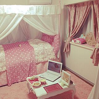 女性一人暮らし1R、姫部屋に関するaskさんの実例写真