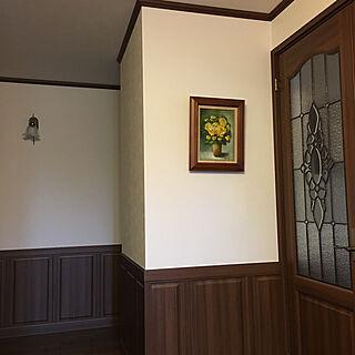 女性32歳の家族暮らし、ステンドガラスに関するnanaさんの実例写真