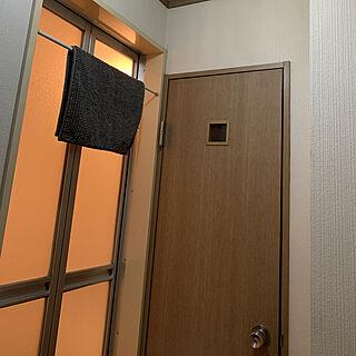 女性家族暮らし3DK、トイレマットに関するjoker27さんの実例写真