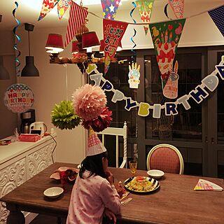 家族暮らし、ほぼ100均の飾り達。に関するiskwxxctmさんの実例写真