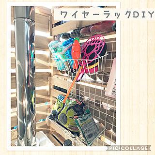玄関/入り口/DIY/どうにかしたい/靴収納/ダイソー...などのインテリア実例 - 2017-11-03 09:50:28