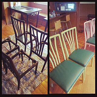 部屋全体/diy 大好き/業務用椅子/ハンドメイドのインテリア実例 - 2020-12-05 17:29:48