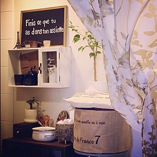 キッチン/ベンジャミン/セリア/ウォーターサーバー/salut!/植物...などのインテリア実例 - 2013-08-24 12:59:13