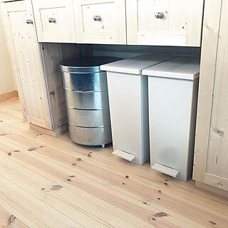 、無垢のキッチンに関するabam1216さんの実例写真