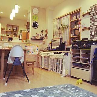 部屋全体/おもちゃ/庶民的な家/子供と暮らす家/IKEA...などのインテリア実例 - 2017-11-23 21:56:41