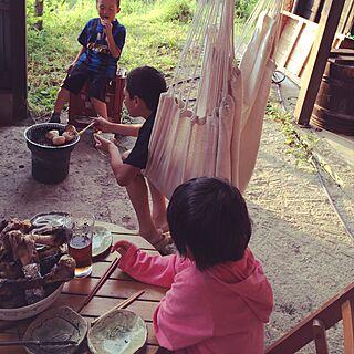 キッチン/七輪/ハンモック/ブログやってます/日本家屋...などのインテリア実例 - 2015-06-10 22:26:41