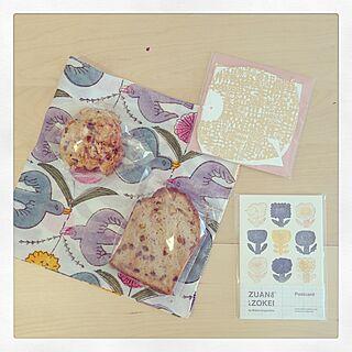 スコーン/パウンドケーキ/おかし/焼き菓子/メッセージカード...などのインテリア実例 - 2016-03-26 23:08:53