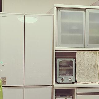 女性29歳の3LDK、HITACHIの冷蔵庫に関するa8PoNiさんの実例写真