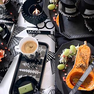 テーブルコーディネート/テーブルスタイリング/table/テーブル/バターピーナッツかぼちゃ...などのインテリア実例 - 2019-11-08 22:21:04