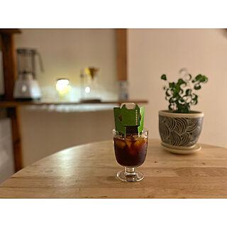 コーヒーのある暮らし/アイスコーヒー/コーヒータイム/スターバックス/おうちカフェ...などのインテリア実例 - 2021-05-27 21:02:09