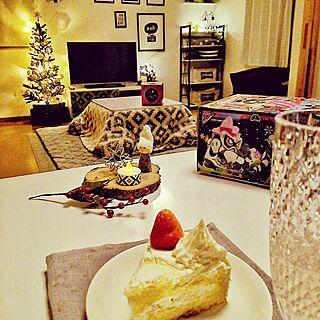 机/クリスマス/しまむら/イルミネーション/こたつ...などのインテリア実例 - 2016-12-25 23:53:44