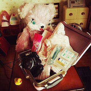 女性家族暮らし3LDK、手作りテディベアに関するcandy_Bonbonさんの実例写真