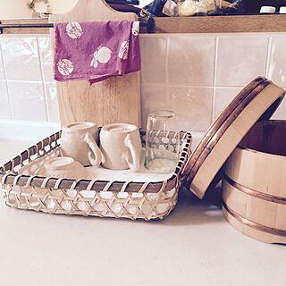 キッチン/おひつ/竹かご/暮らしの道具/てぬぐいのインテリア実例 - 2016-04-19 08:23:10