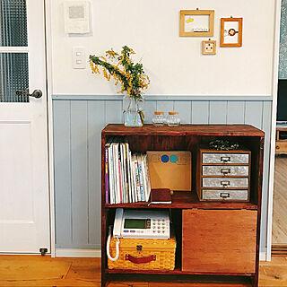 女性31歳の家族暮らし4LDK、本棚に関するusagi_homeさんの実例写真