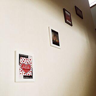 壁/天井/アート/壁掛け/100均/ダイソー...などのインテリア実例 - 2017-06-12 15:16:51