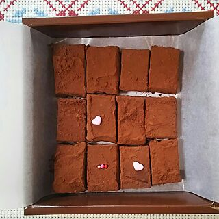 女性44歳の家族暮らし、生チョコ手作りに関するoliveさんの実例写真