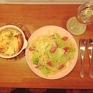 女性36歳の家族暮らし3LDK、1人ご飯に関するHitomiさんの実例写真