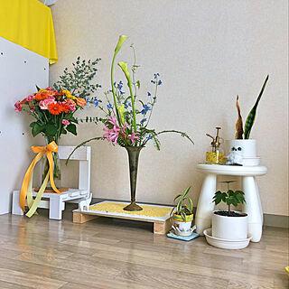 女性26歳の一人暮らし1K、yellow 幸せに関するYuukaさんの実例写真