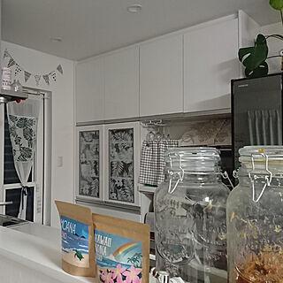 キッチン/ハワイアン/モンステラ/ホワイトインテリア/コナズ珈琲のインテリア実例 - 2020-03-20 11:13:26