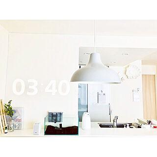 女性28歳の家族暮らし3LDK、シンプルホームに関するmeg.さんの実例写真