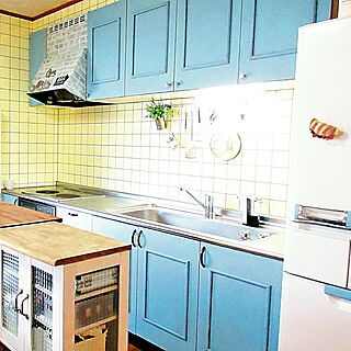 女性家族暮らし3DK、キッチンツールに関するparuさんの実例写真