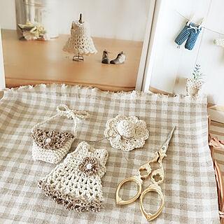 女性30歳の家族暮らし4LDK、オーダー品に関するsatotoさんの実例写真