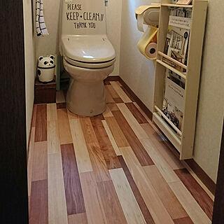 バス/トイレ/こどもと暮らす。/DIY/本/RCの出会いに感謝♡...などのインテリア実例 - 2018-04-22 17:01:57