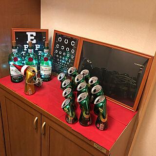 空き瓶ライト/愛車のカタログ/DDさんの視力検査表/空き瓶アート/空き瓶リメイク...などのインテリア実例 - 2019-12-24 23:06:58