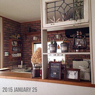 キッチンシェルフの人気の写真(RoomNo.655530)