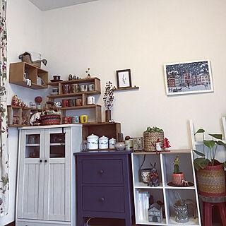 女性家族暮らし3K、ランチョンマット収納に関するkurokoさんの実例写真