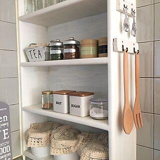 キッチン棚の人気の写真(RoomNo.2250785)