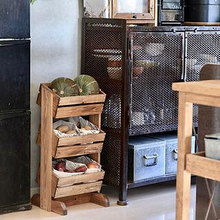 3段ボックス/野菜ストッカー/DIYのある暮らし/DIYアドバイザー/お部屋づくり...などのインテリア実例 - 2020-12-31 18:27:17