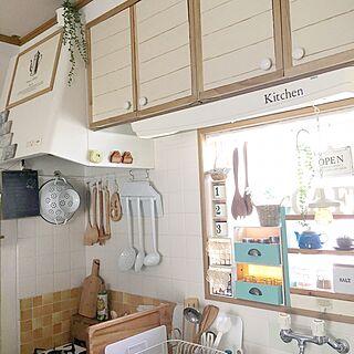 キッチン/HOWARO/リンナイ/賃貸/賃貸DIY...などのインテリア実例 - 2017-05-12 08:22:25