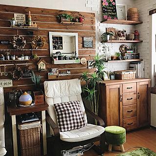 女性家族暮らし3LDK、IKEAソファに関するmintさんの実例写真