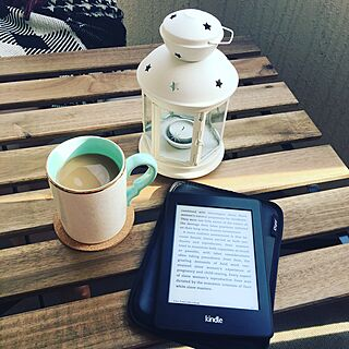 Kindle/veranda/coffee/Mug/Francfranc...などのインテリア実例 - 2016-02-15 18:38:55