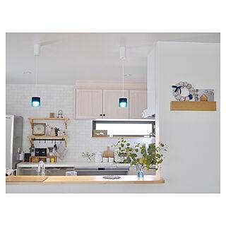 キッチン/壁に付けられる家具/オーデリック/ペンダントライト/コーヒーキャニスター...などのインテリア実例 - 2018-06-20 17:27:36