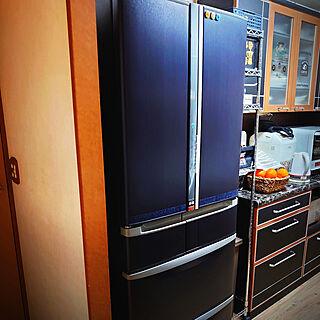 キッチン/DIY/3Mダイノックシート/冷蔵庫リメイクのインテリア実例 - 2020-02-18 23:03:03