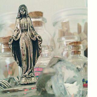 女性一人暮らし1K、マリア像に関するsak.さんの実例写真