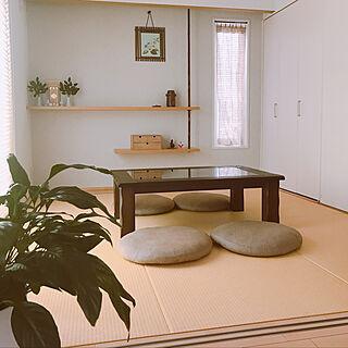 畳の部屋/観葉植物/部屋全体/好きな場所/植物のある暮らし...などのインテリア実例 - 2019-05-19 15:44:27