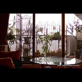 玄関/入り口/ガーデニング/ベランダ/マンションインテリア/マンション暮らし...などのインテリア実例 - 2018-01-05 00:13:27