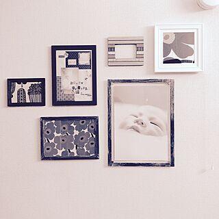 リビング/コラージュ/コラージュ作品/写真/写真フレーム...などのインテリア実例 - 2015-03-25 19:29:33
