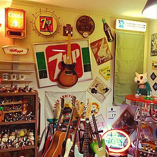 男性家族暮らし、ベースギターに関するtomson330さんの実例写真