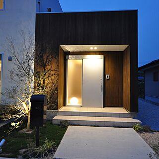 ダウンライト/ジョリパッド/塗り壁/引戸/玄関ドア...などのインテリア実例 - 2016-10-21 21:52:08